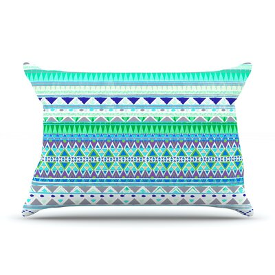 Emerald Chenoa by Nika Martinez Featherweight Pillow Sham Size: Queen, Fabric: Woven Polyester