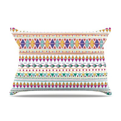 Native Fiesta by Nika Martinez Featherweight Pillow Sham Size: Queen, Fabric: Woven Polyester