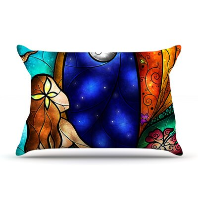 I Miss You by Mandie Manzano Featherweight Pillow Sham Size: Queen, Fabric: Woven Polyester