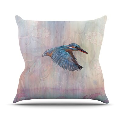 Terror From Above Throw Pillow Size: 16 H x 16 W