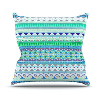 Emerald Chenoa Throw Pillow Size: 18 H x 18 W