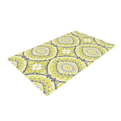 Miranda Mol Tessellation Yellow Area Rug