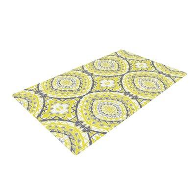 Miranda Mol Tessellation Yellow Area Rug Rug Size: 2 x 3
