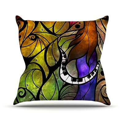 So This is Love Throw Pillow Size: 18 H x 18 W