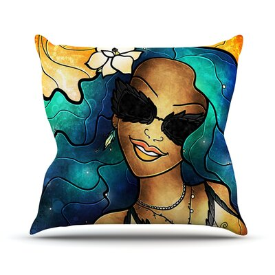 Let The Good Times Roll Throw Pillow Size: 18 H x 18 W