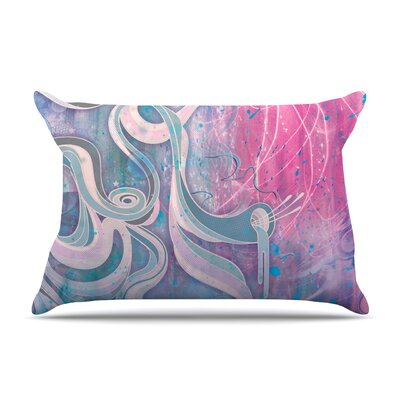 Electric Dreams by Mat Miller Featherweight Pillow Sham Size: King, Fabric: Woven Polyester