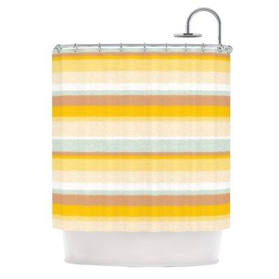 Desert Stripes Shower Curtain