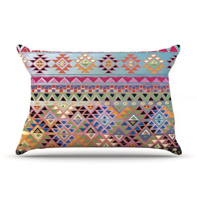 Tribal Native Pillow Case Size: King