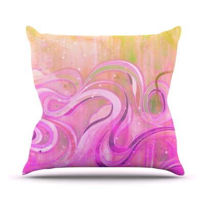 Cascade Outdoor Throw Pillow Size: 16 H x 16 W x 3 D