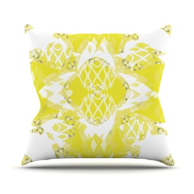 Citrus Spritz Throw Pillow Size: 26 H x 26 W