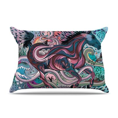 Poetry in Motion by Mat Miller Featherweight Pillow Sham Size: King, Fabric: Woven Polyester