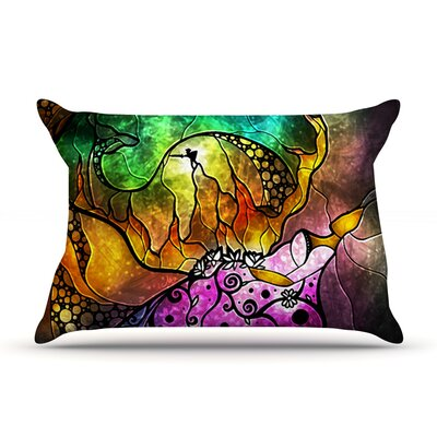 Sleeping Beauty by Mandie Manzano Featherweight Pillow Sham Size: King, Fabric: Woven Polyester