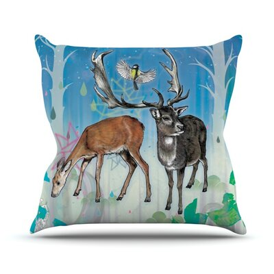 Glade Throw Pillow Size: 18 H x 18 W