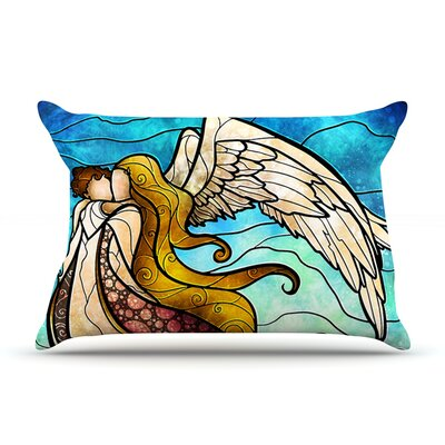 In The Arms Of The Angel Pillow Case Size: King
