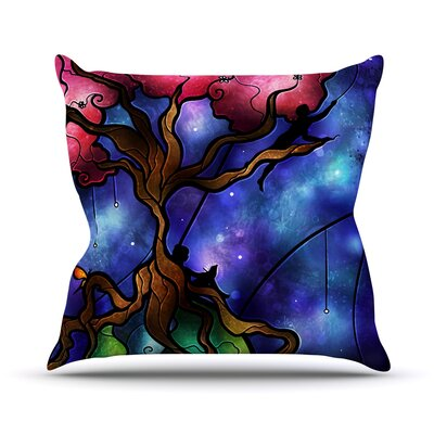 Always Us Throw Pillow Size: 18 H x 18 W