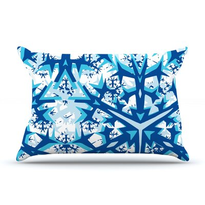 Winter Mountains by Miranda Mol Featherweight Pillow Sham Size: King, Fabric: Woven Polyester