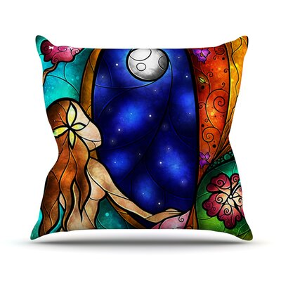 I Miss You Throw Pillow Size: 18 H x 18 W