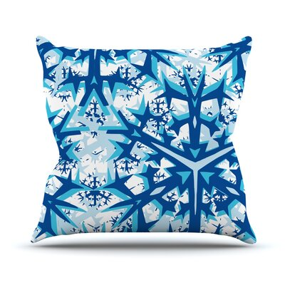 Winter Mountains Throw Pillow Size: 26 H x 26 W