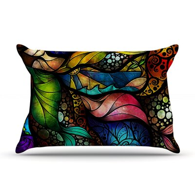 Sleep and Awake by Mandie Manzano Featherweight Pillow Sham Size: King, Fabric: Woven Polyester