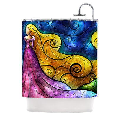 Starry Lights Shower Curtain