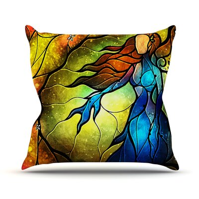 Wishing You Were Here Throw Pillow Size: 18 H x 18 W