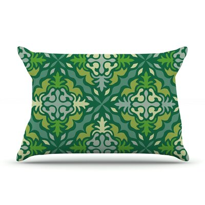 Yulenique by Miranda Mol Featherweight Pillow Sham Size: Queen, Fabric: Woven Polyester