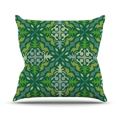 Yulenique Throw Pillow Size: 18 H x 18 W