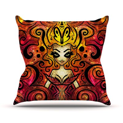 She Devil Throw Pillow Size: 18 H x 18 W