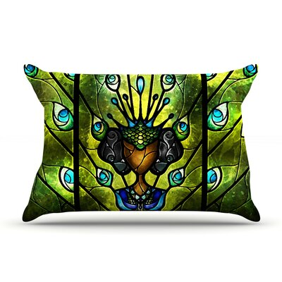 Angel Eyes Pillow Case Size: Standard