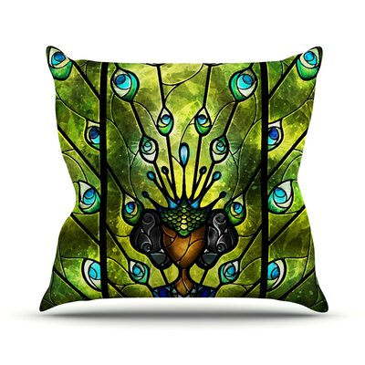 Angel Eyes Throw Pillow Size: 16 H x 16 W