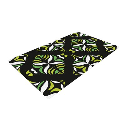 Miranda Mol Retro Train Black Area Rug Rug Size: 2 x 3