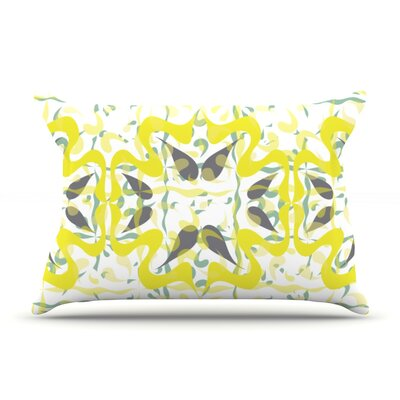 Azulejos by Miranda Mol Featherweight Pillow Sham Size: Queen, Fabric: Woven Polyester