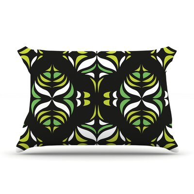 Retro Train by Miranda Mol Featherweight Pillow Sham Size: Queen, Fabric: Woven Polyester