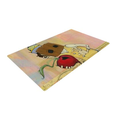 Matthew Reid Thalamus Red/Yellow Area Rug Rug Size: 2 x 3