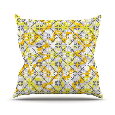Effloresco Throw Pillow Size: 18 H x 18 W