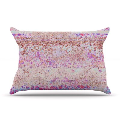 Broken Pattern Pillow Case Size: King