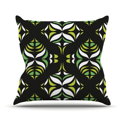 Retro Train Throw Pillow Size: 18 H x 18 W