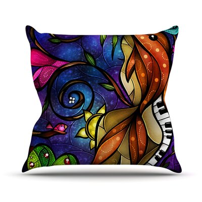 Tell Me Stories Throw Pillow Size: 18 H x 18 W