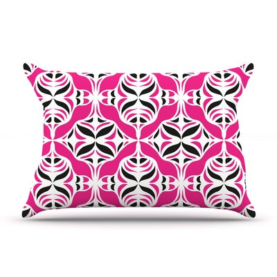 Think Pink by Miranda Mol Featherweight Pillow Sham Size: King, Fabric: Woven Polyester