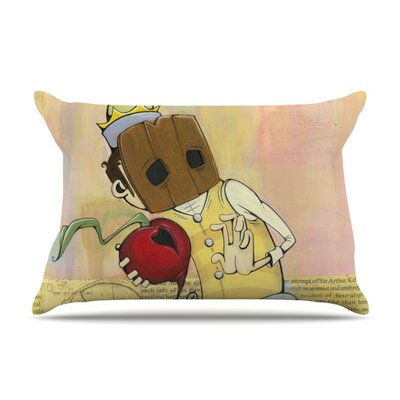 Thalamus by Matthew Reid Featherweight Pillow Sham Size: Queen, Fabric: Woven Polyester