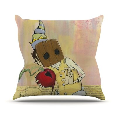 Thalamus Throw Pillow Size: 18 H x 18 W