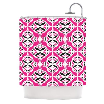 Shower Curtain Color: Think Pink