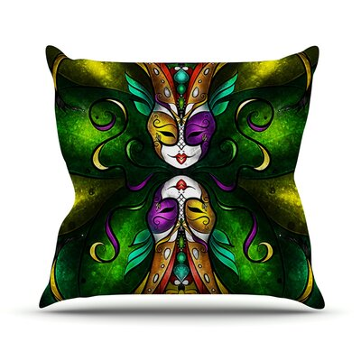 Topsy Turvy Throw Pillow Size: 18 H x 18 W