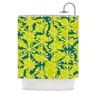 Festive Splash Shower Curtain