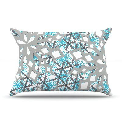 Chilly by Miranda Mol Featherweight Pillow Sham Size: King, Fabric: Woven Polyester