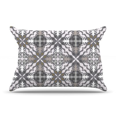 Let it Snow by Miranda Mol Featherweight Pillow Sham Size: King, Fabric: Woven Polyester