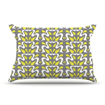Cascade by Miranda Mol Featherweight Pillow Sham Size: Queen, Fabric: Woven Polyester