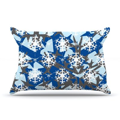 Pillow Case Size: King, Color: Ice Topography