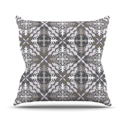 Let In Snow Throw Pillow Size: 16 H x 16 W