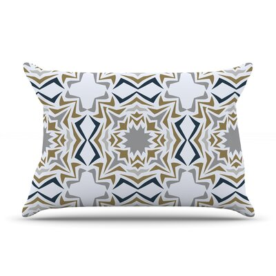 Ice Stars by Miranda Mol Featherweight Pillow Sham Size: Queen, Fabric: Woven Polyester